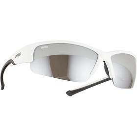 UVEX Sportstyle 215 Glasses white/black/silver